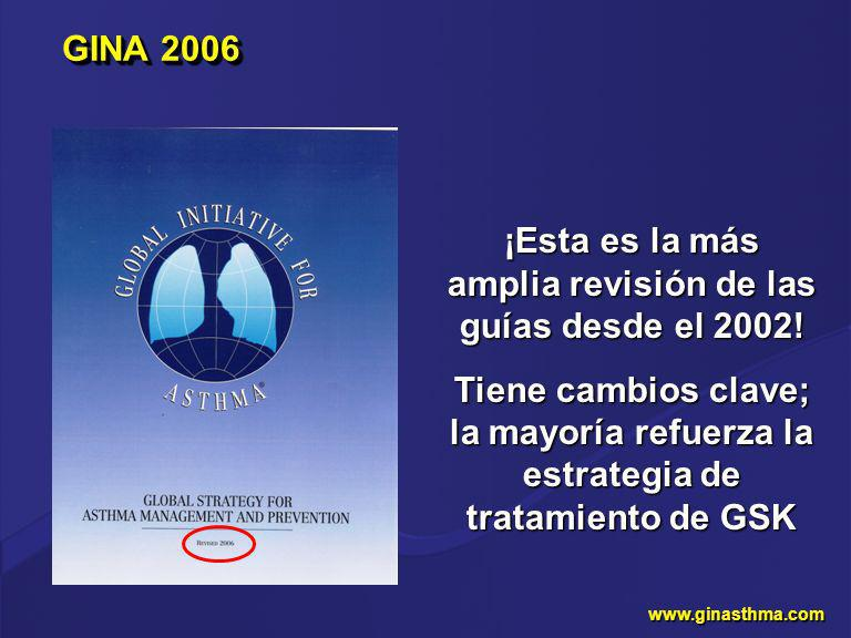 ¡Esta es la más amplia revisión de las guías desde el 2002!