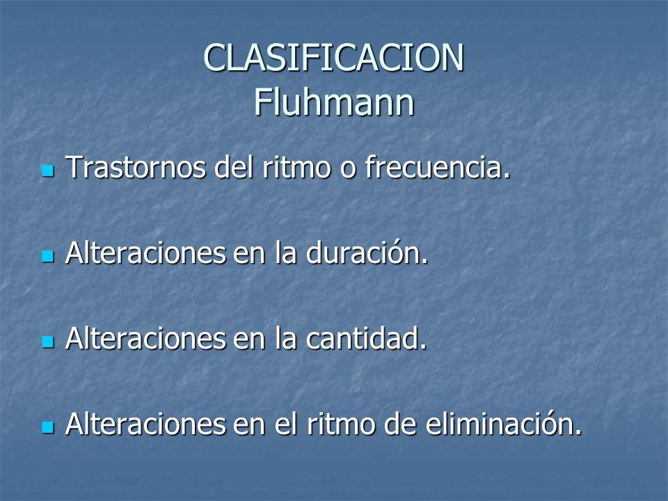 CLASIFICACION Fluhmann
