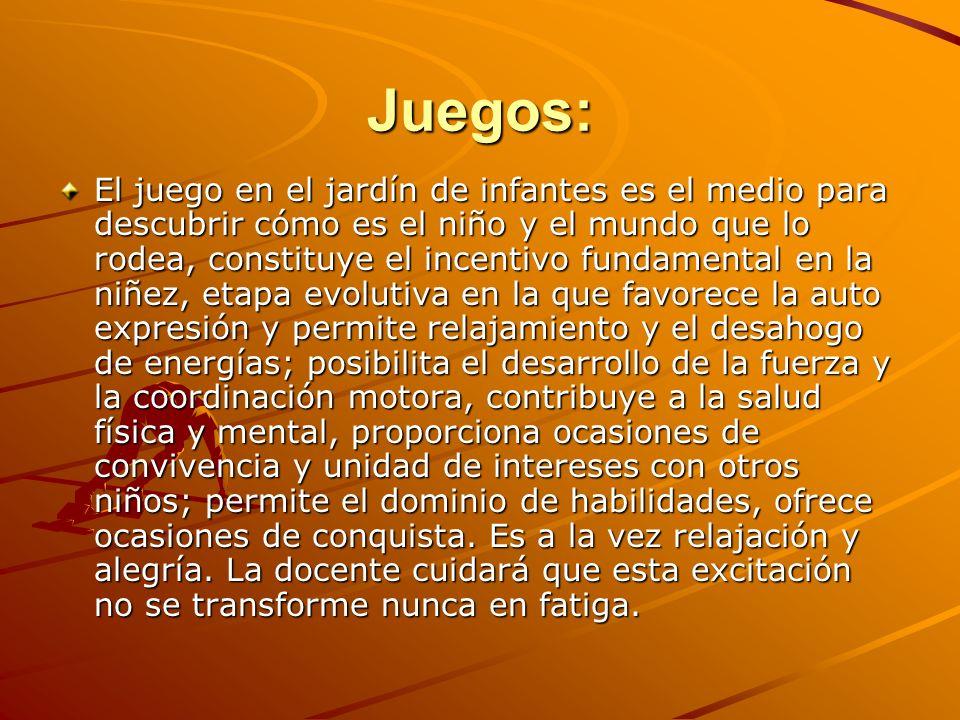 Juegos: