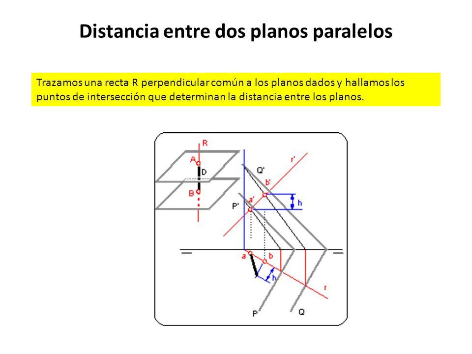 Distancia entre dos planos paralelos