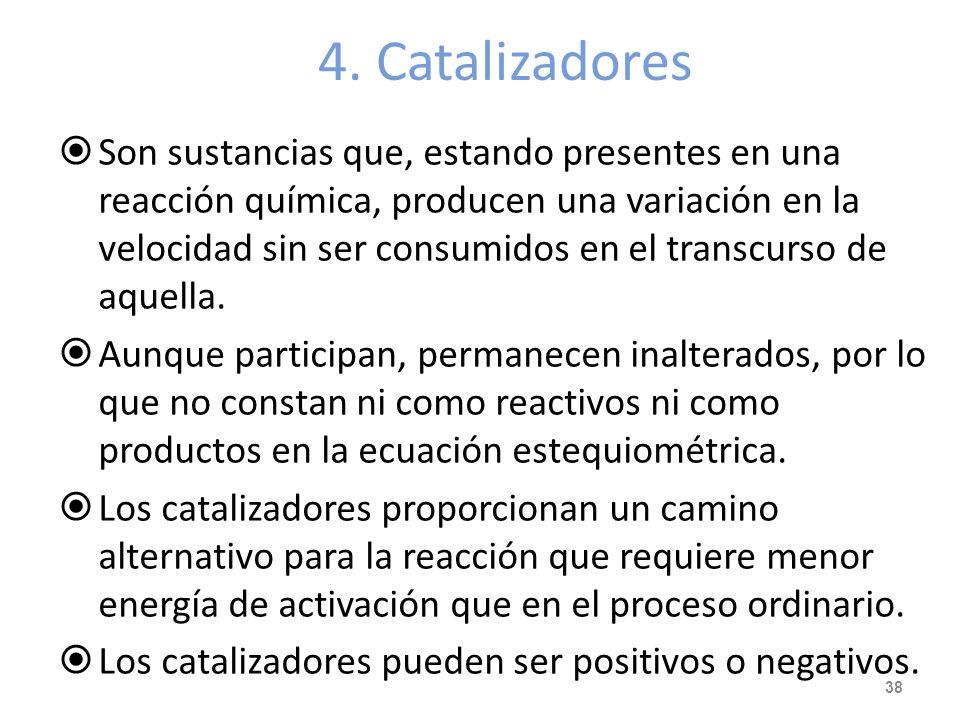 4. Catalizadores