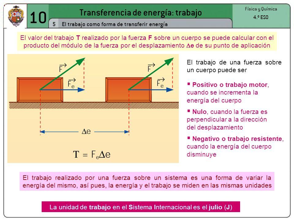10 Transferencia de energía: trabajo 5