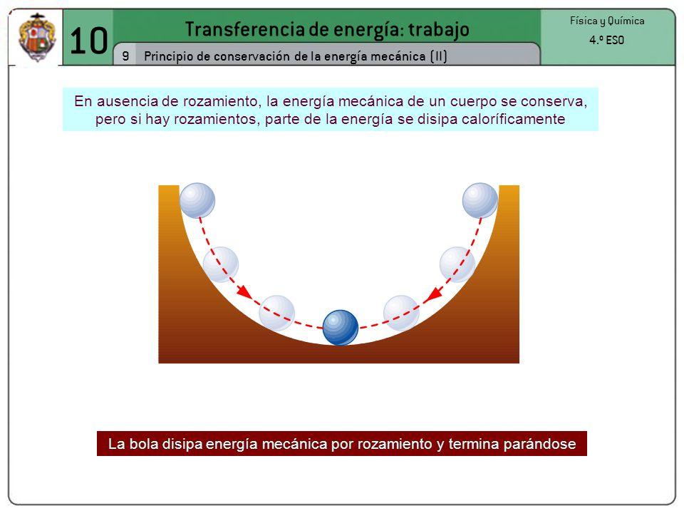 10 Transferencia de energía: trabajo 9