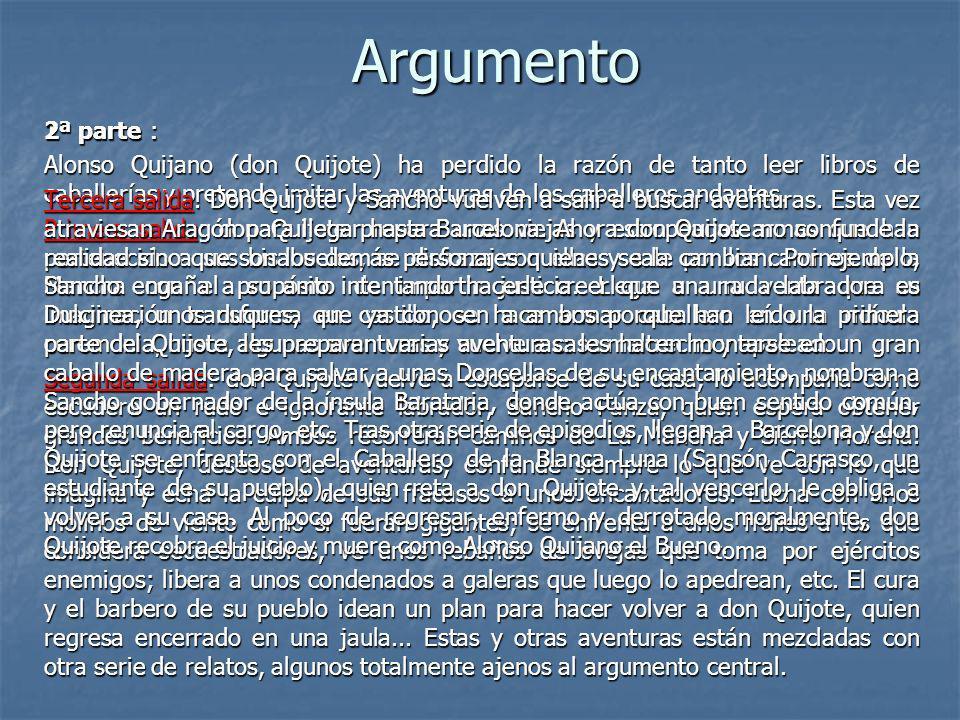Argumento 2ª parte :