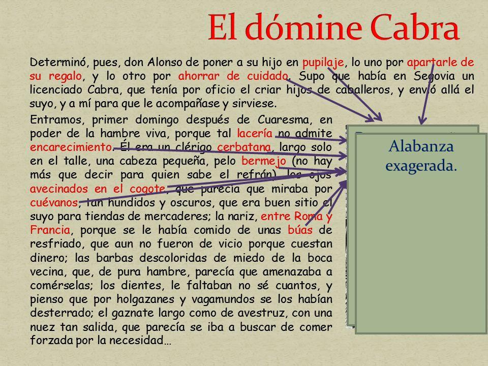 El dómine Cabra