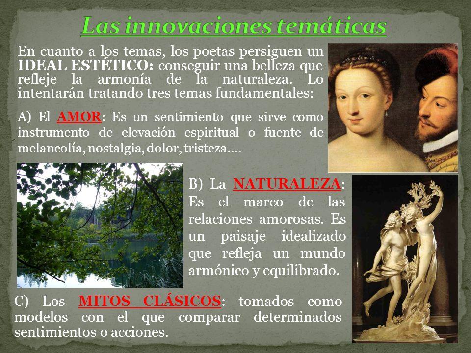 Las innovaciones temáticas