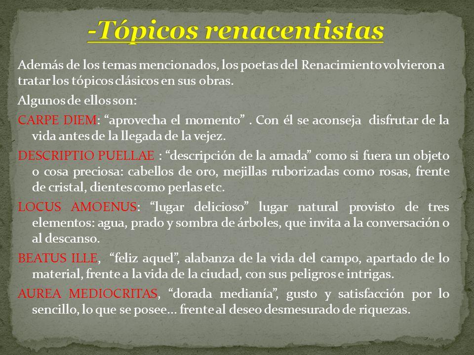-Tópicos renacentistas