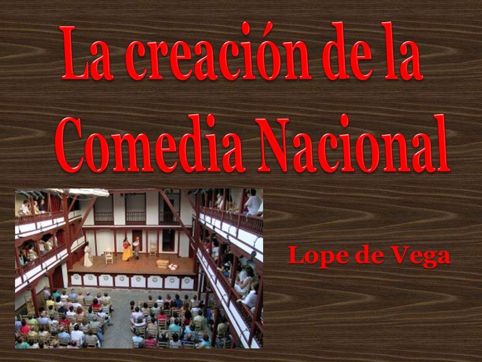 La creación de la Comedia Nacional Lope de Vega
