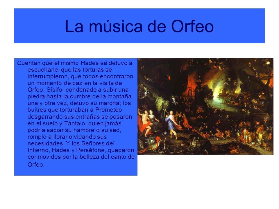 La música de Orfeo
