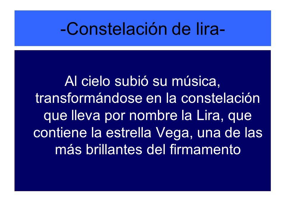 -Constelación de lira-