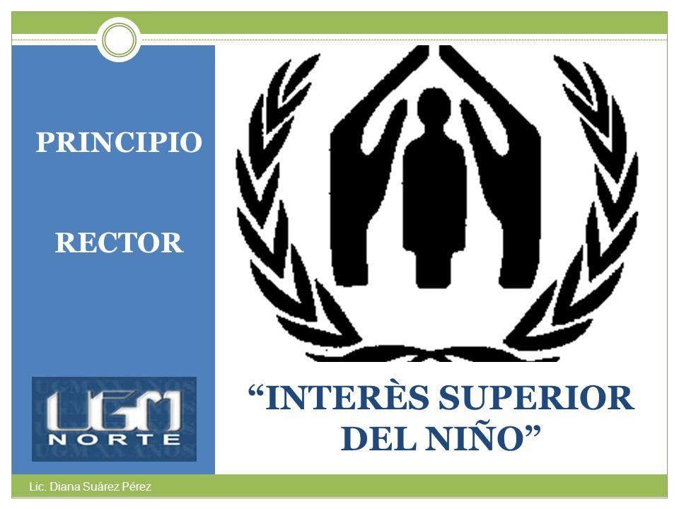 INTERÈS SUPERIOR DEL NIÑO