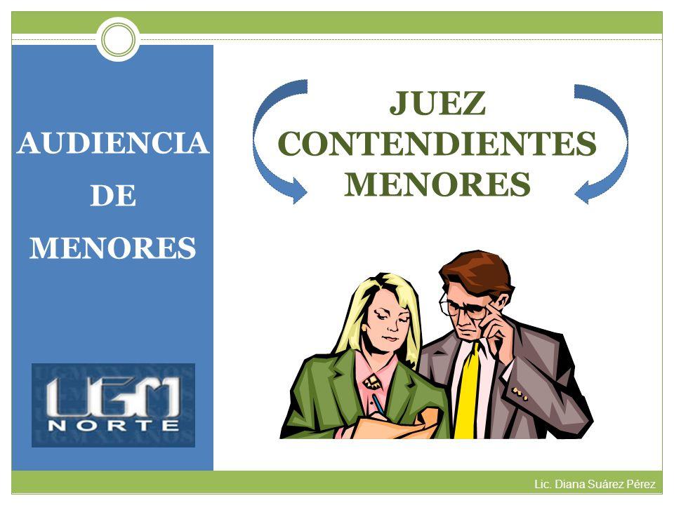 JUEZ CONTENDIENTES MENORES