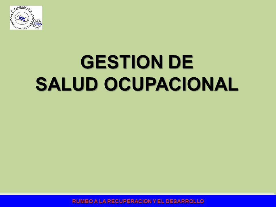 GESTION DE SALUD OCUPACIONAL