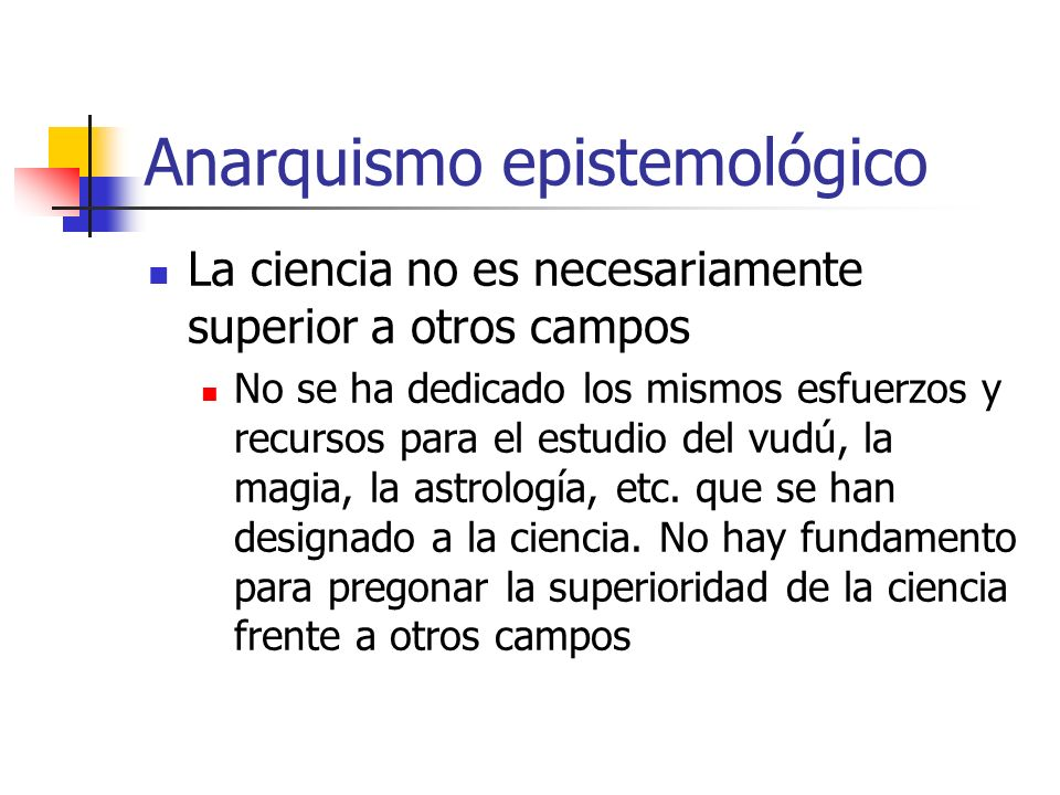 Anarquismo epistemológico