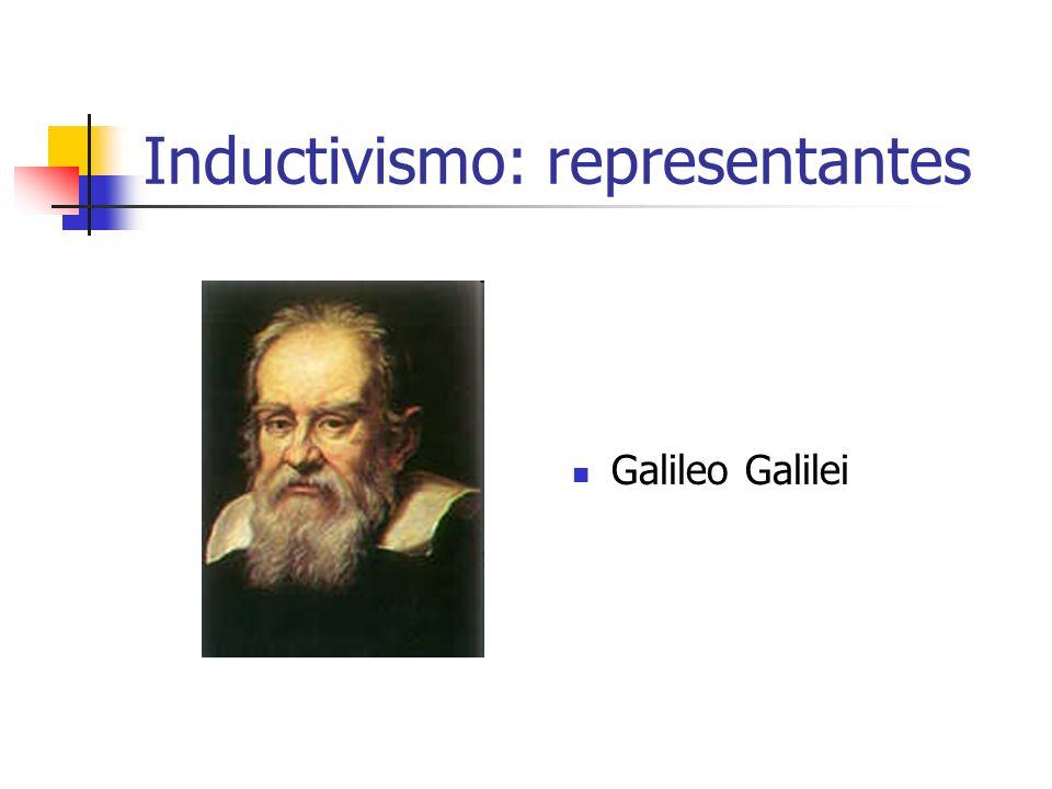 Inductivismo: representantes