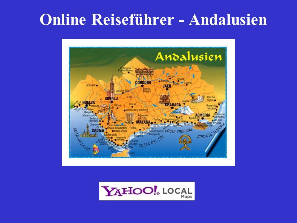 Online Reiseführer - Andalusien