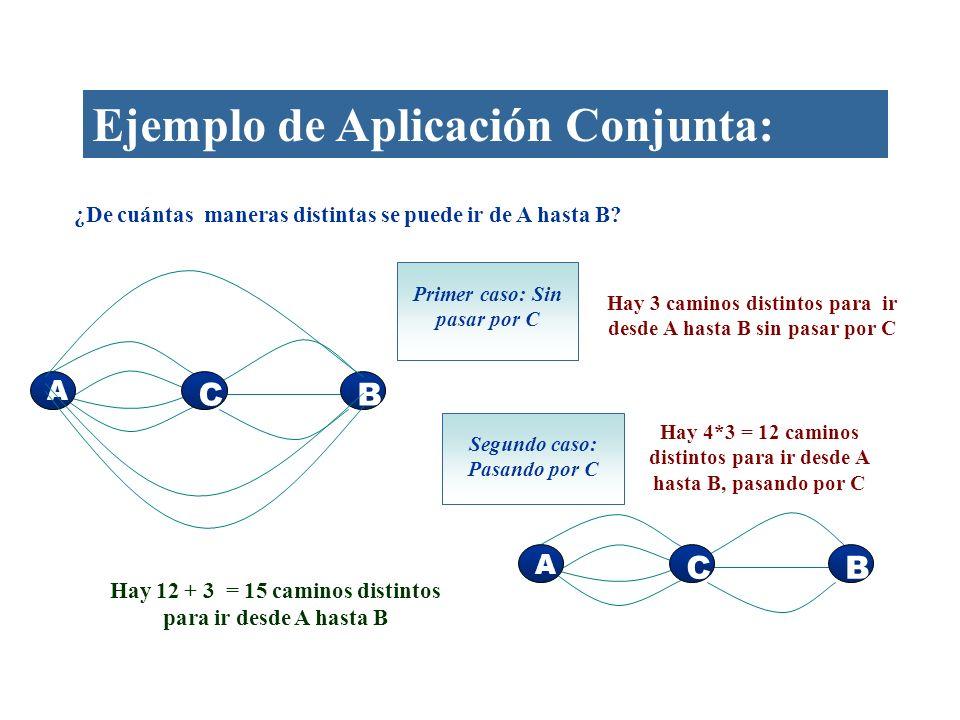 Ejemplo de Aplicación Conjunta: