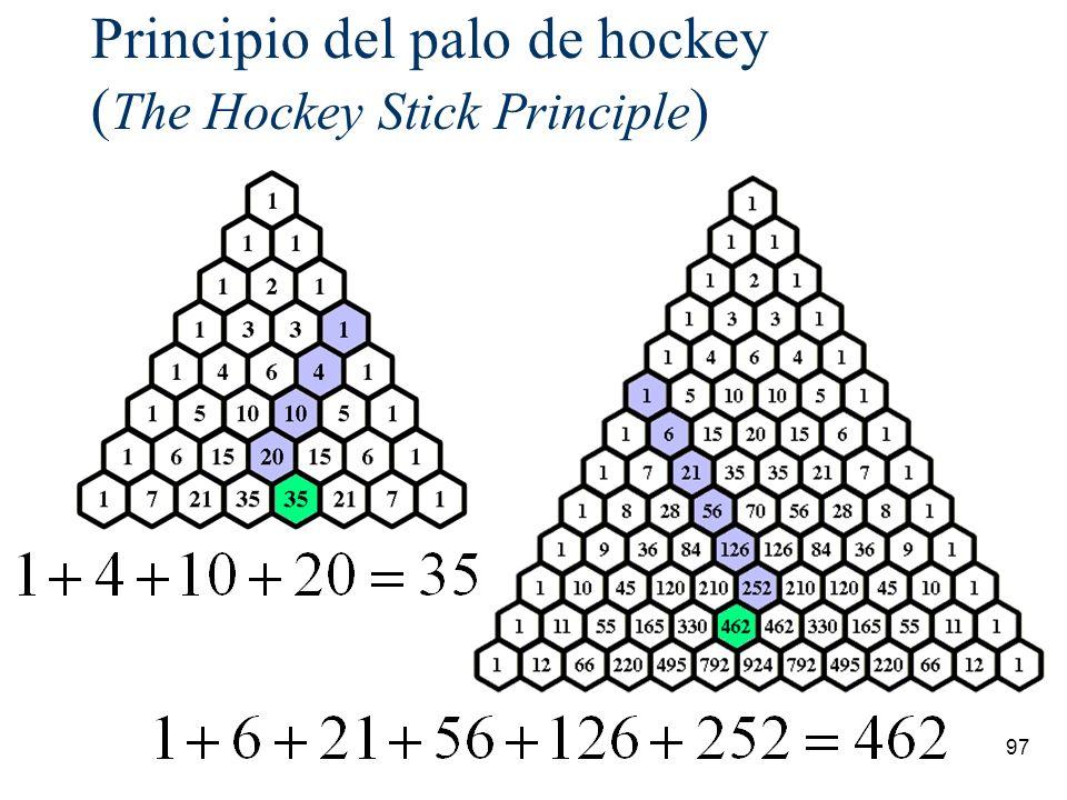 Principio del palo de hockey (The Hockey Stick Principle)