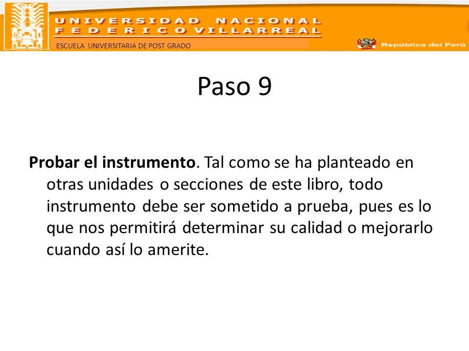 Paso 9