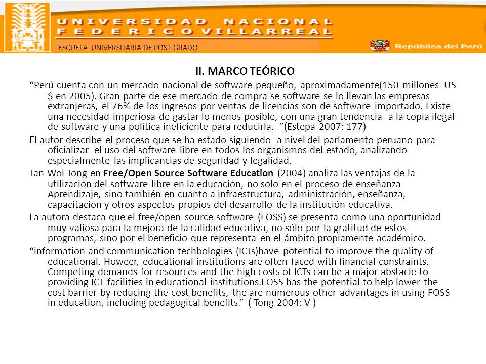 II. MARCO TEÓRICO