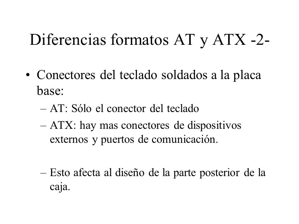 Diferencias formatos AT y ATX -2-