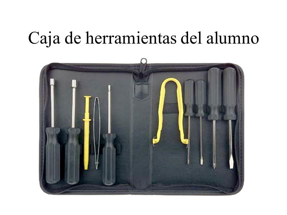 Caja de herramientas del alumno
