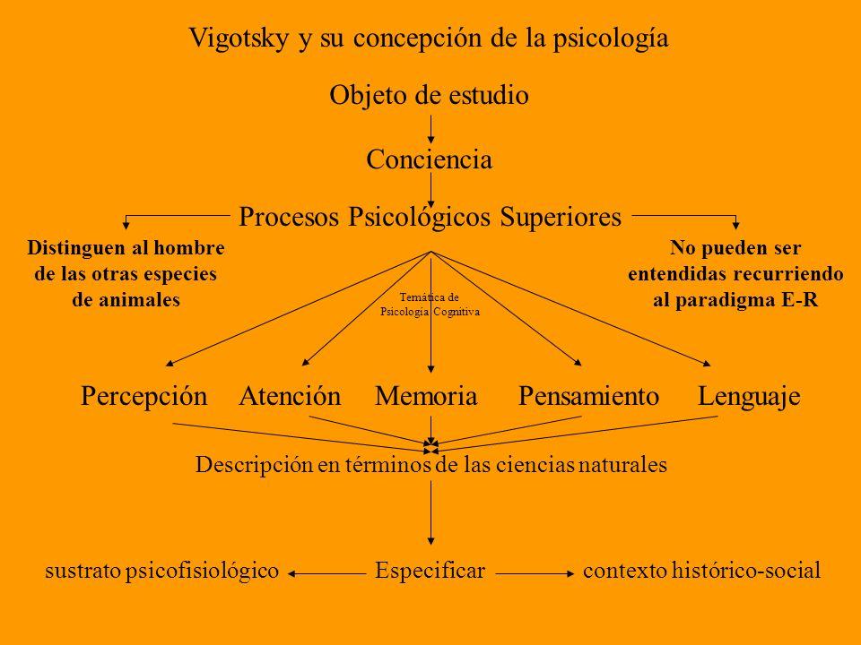 Vigotsky y su concepción de la psicología