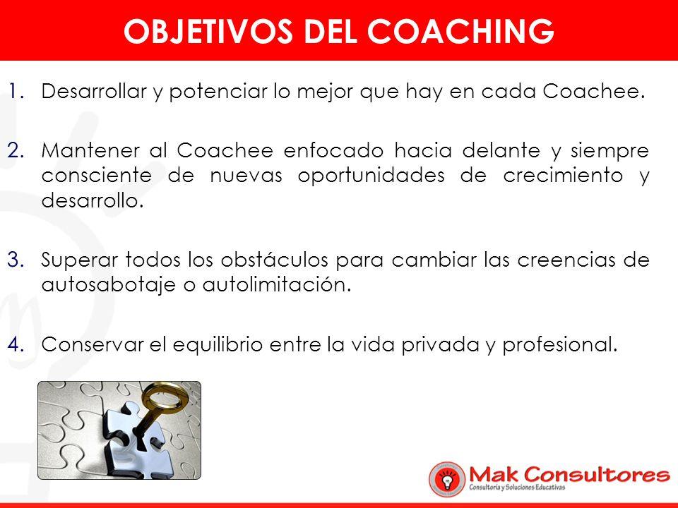 OBJETIVOS DEL COACHING