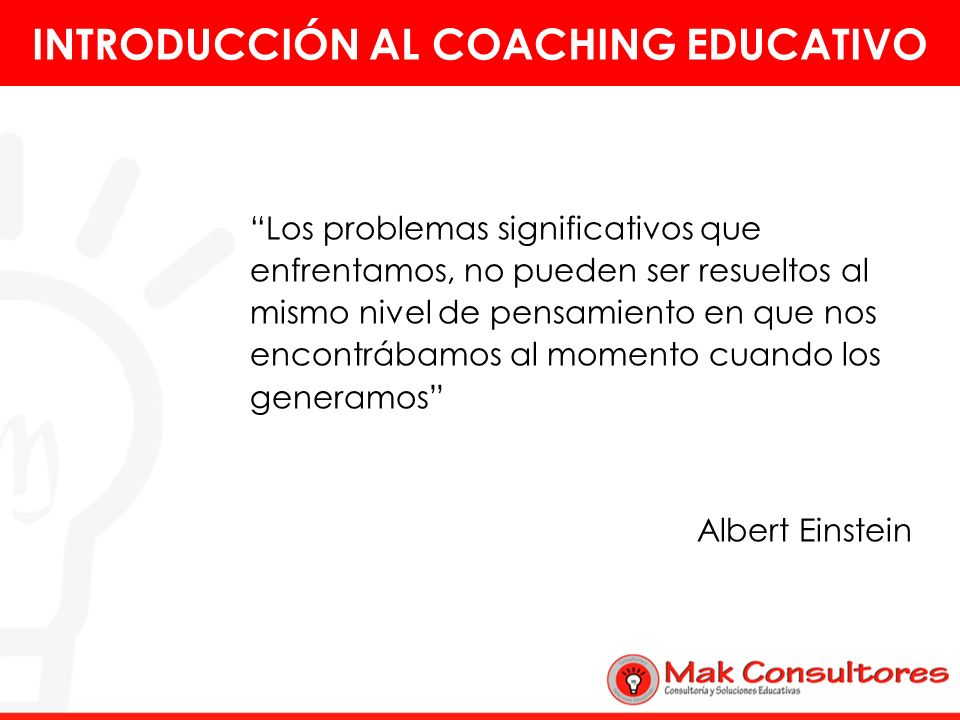 INTRODUCCIÓN AL COACHING EDUCATIVO