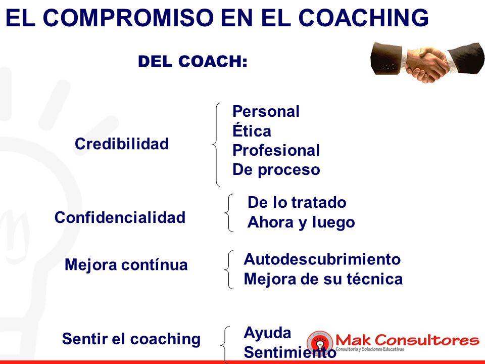 EL COMPROMISO EN EL COACHING