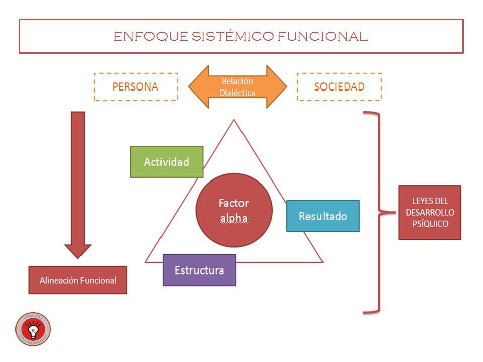 ENFOQUE SISTÉMICO FUNCIONAL
