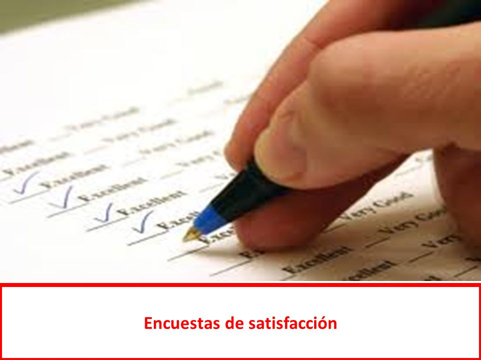 Encuestas de satisfacción