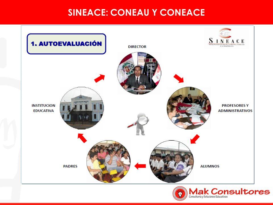 SINEACE: CONEAU Y CONEACE