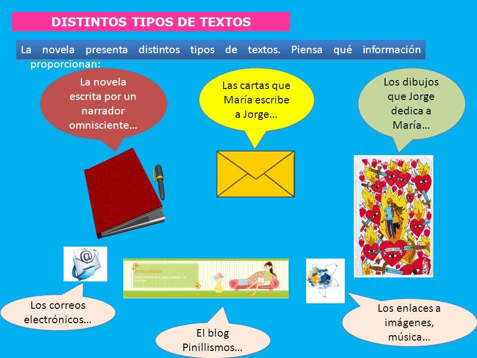 DISTINTOS TIPOS DE TEXTOS