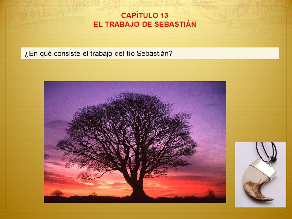 EL TRABAJO DE SEBASTIÁN