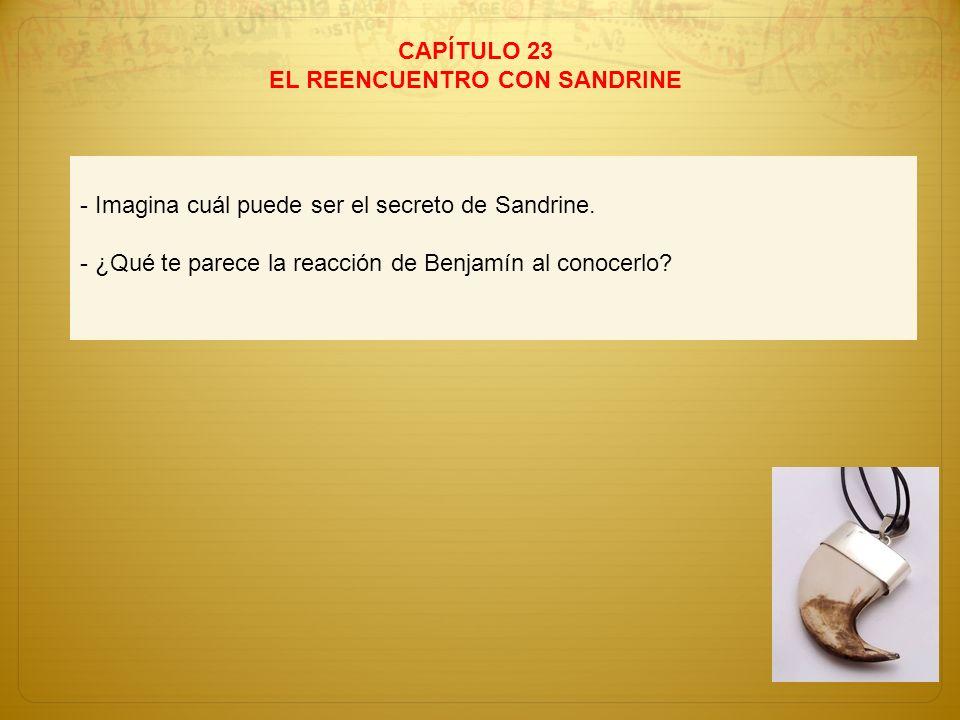 EL REENCUENTRO CON SANDRINE