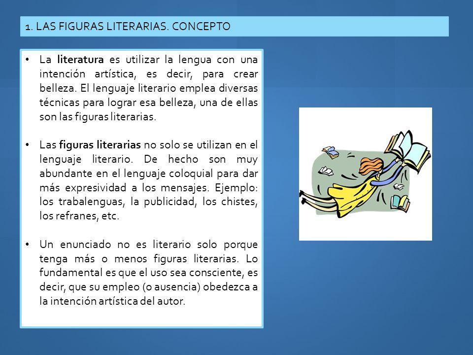 1. LAS FIGURAS LITERARIAS. CONCEPTO