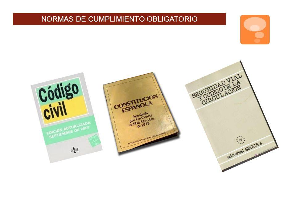 NORMAS DE CUMPLIMIENTO OBLIGATORIO