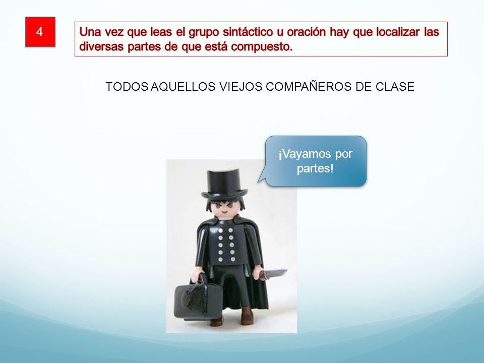 TODOS AQUELLOS VIEJOS COMPAÑEROS DE CLASE