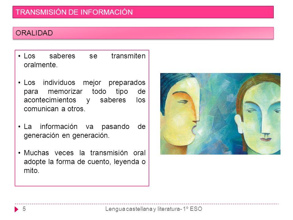 TRANSMISIÓN DE INFORMACIÓN