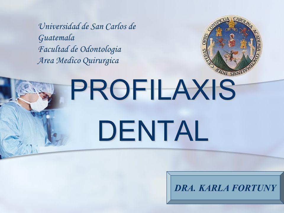 Universidad de San Carlos de Guatemala Facultad de Odontologia Area Medico Quirurgica