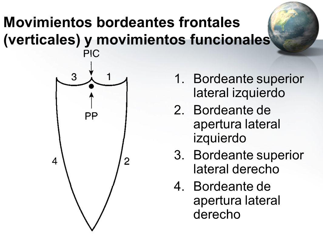 Movimientos bordeantes frontales (verticales) y movimientos funcionales