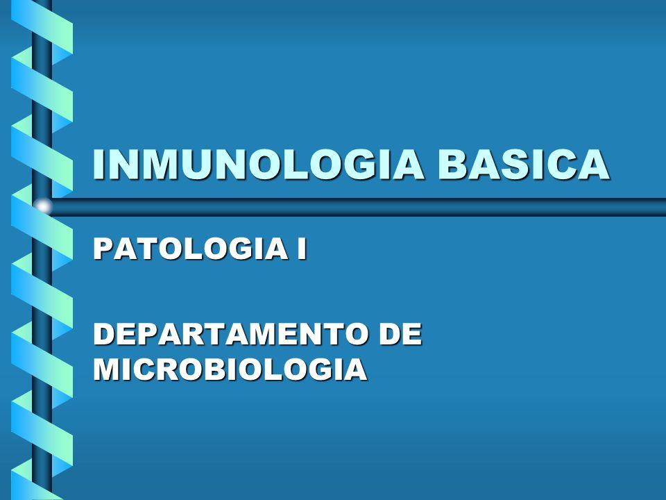 PATOLOGIA I DEPARTAMENTO DE MICROBIOLOGIA
