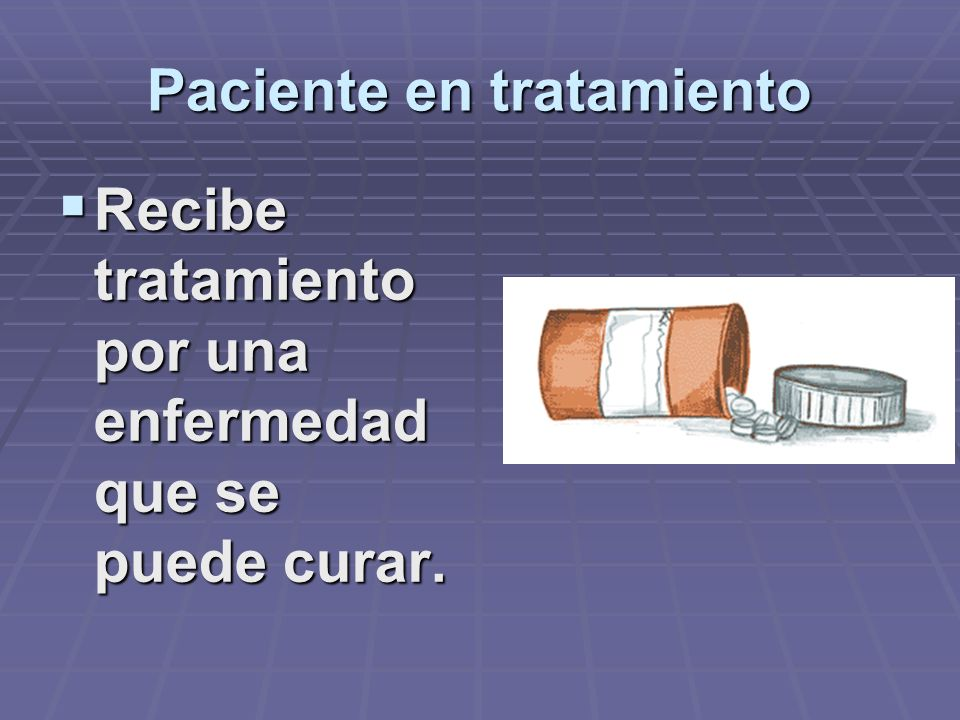 Paciente en tratamiento