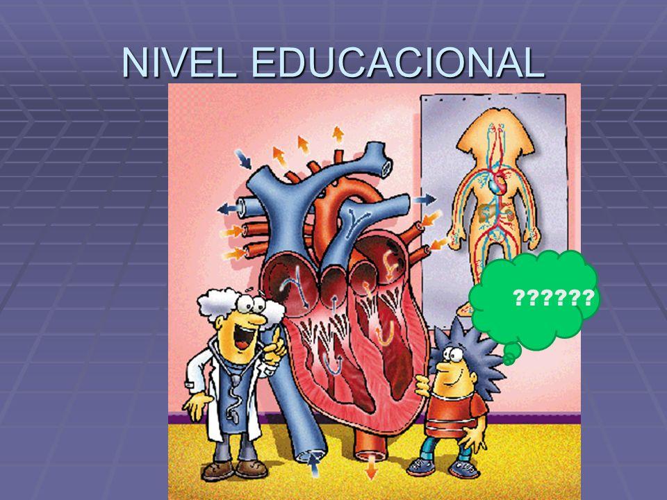 NIVEL EDUCACIONAL