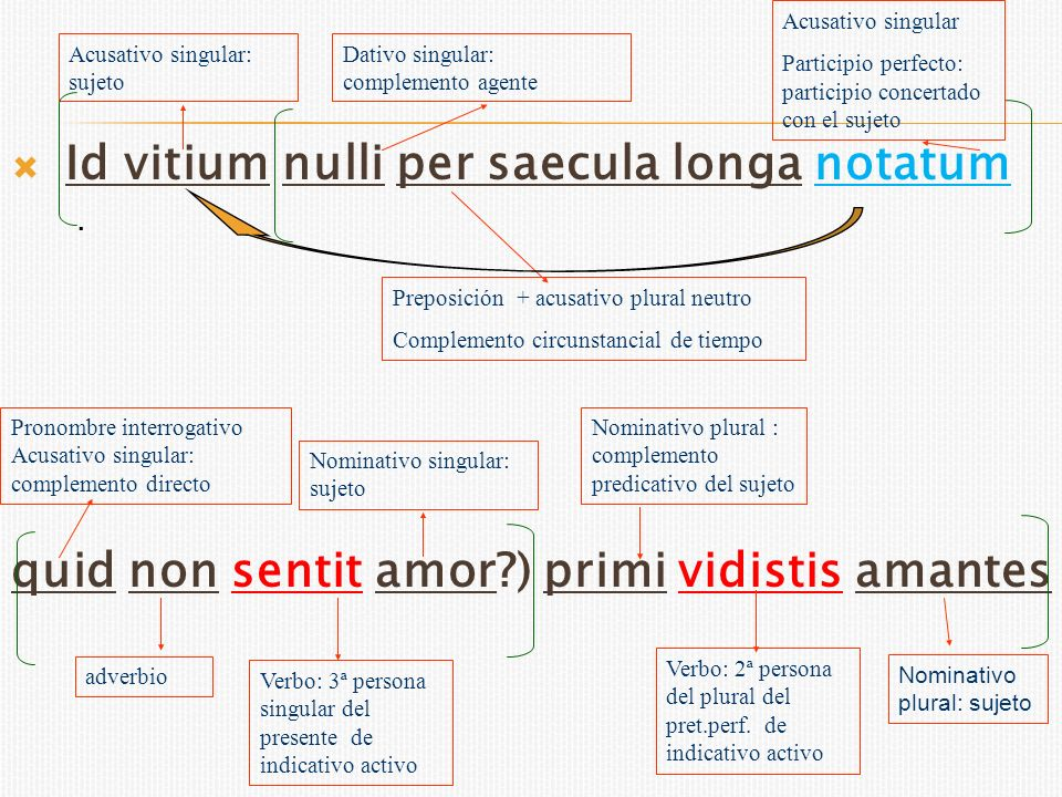Id vitium nulli per saecula longa notatum