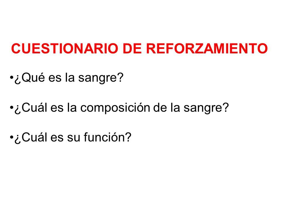 CUESTIONARIO DE REFORZAMIENTO