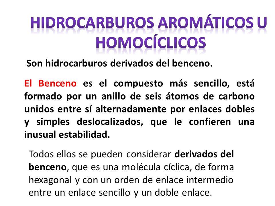 Hidrocarburos aromáticos u