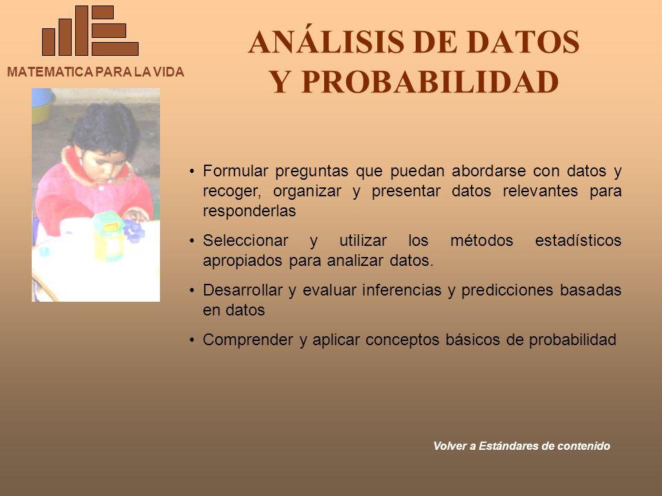 ANÁLISIS DE DATOS Y PROBABILIDAD