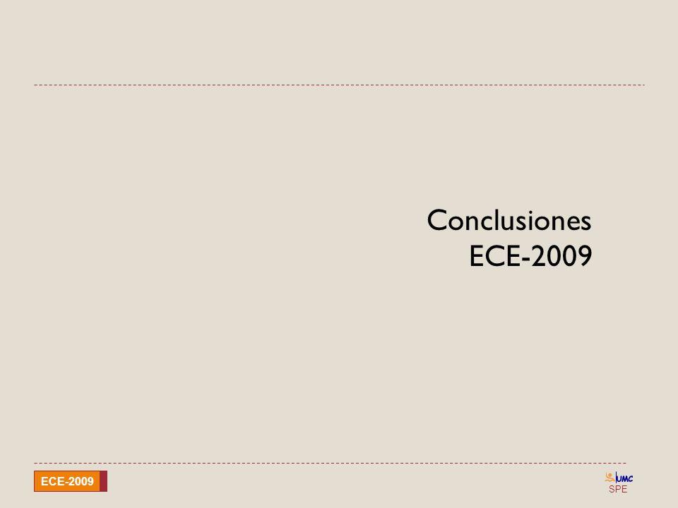 Conclusiones ECE-2009